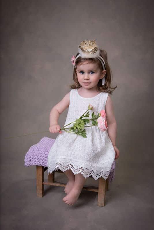 Mädchen Portrait Prinzessin