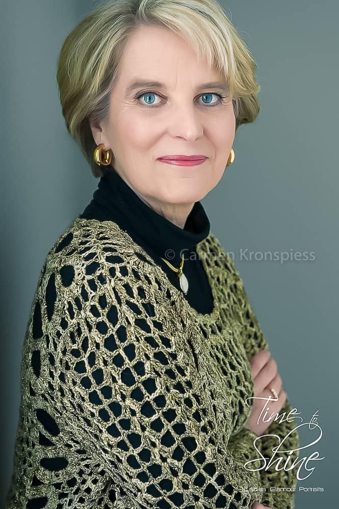Portrait fesche Dame